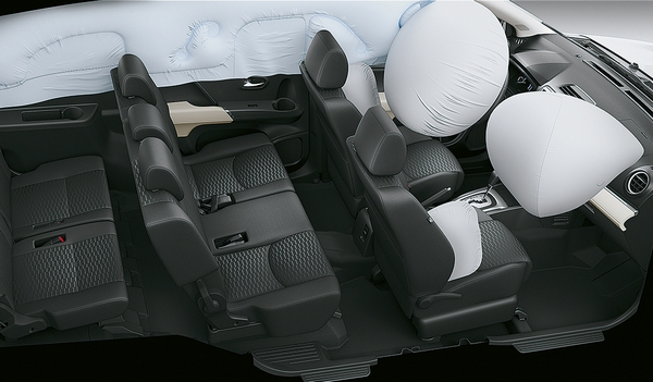 toyota rush interior and airbag system