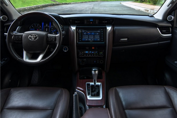 toyota fortuner 2019 interior