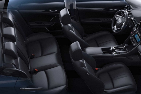 Honda civic 2019 philippines interior