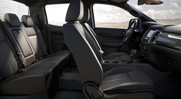 ford ranger 2019 seating