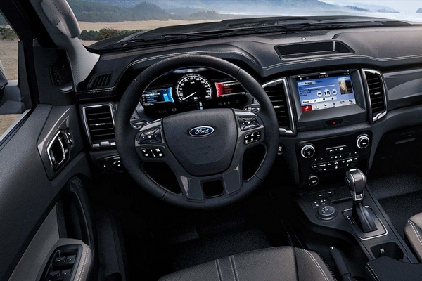 ford ranger 2019 philippines interior
