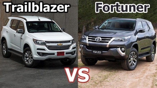 Chevrolet Trailblazer or Toyota Fortuner?
