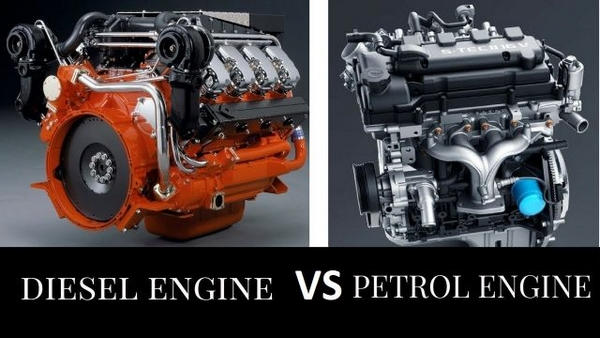 diesel engine vs petrol engine