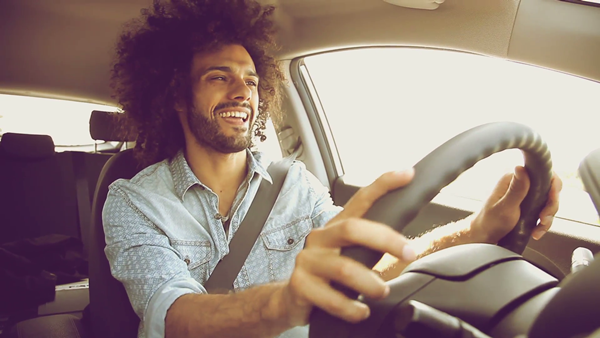 smile while driving