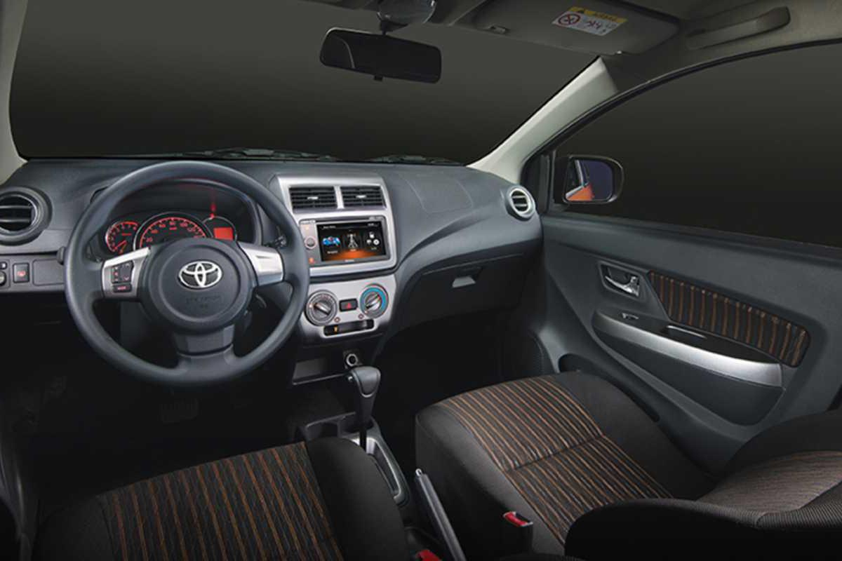 Toyota Wigo 2017 Interior