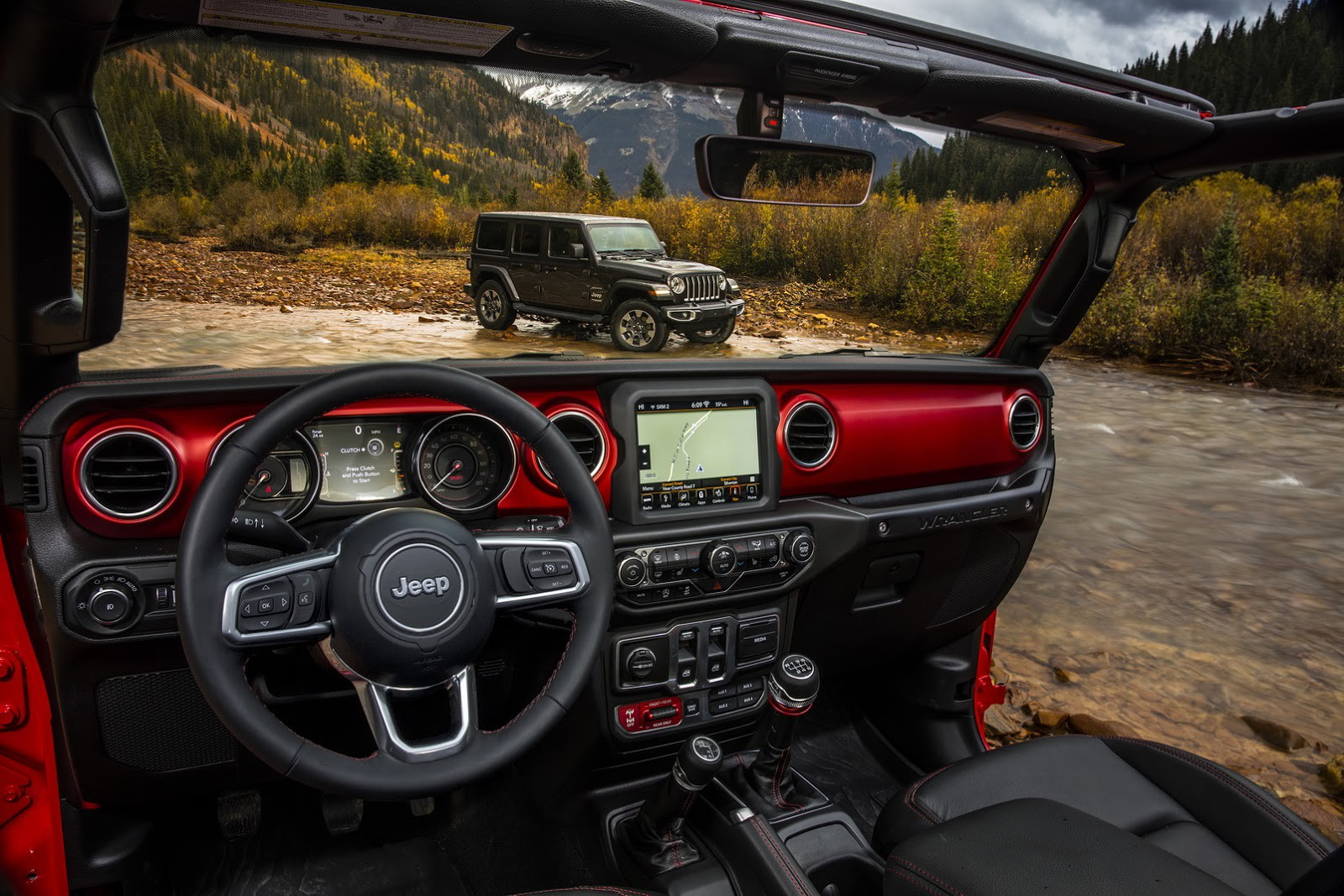 Jeep Wrangle 2018 Interior