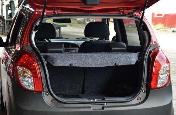 Suzuki Alto 2018 cargo space