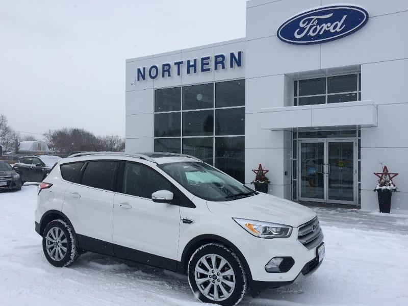 2018 Ford Escape Titanium in White