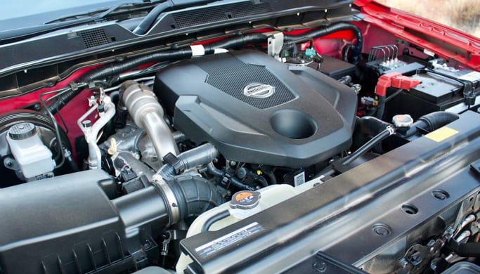 2018 Nissan Navara Engine