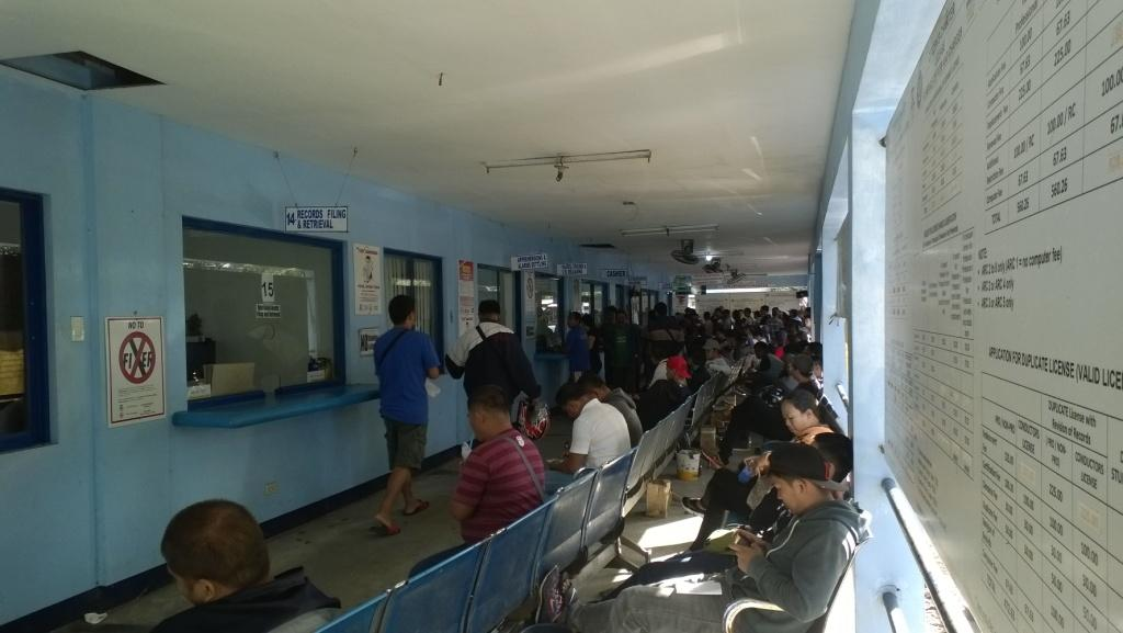 crowded lto branch