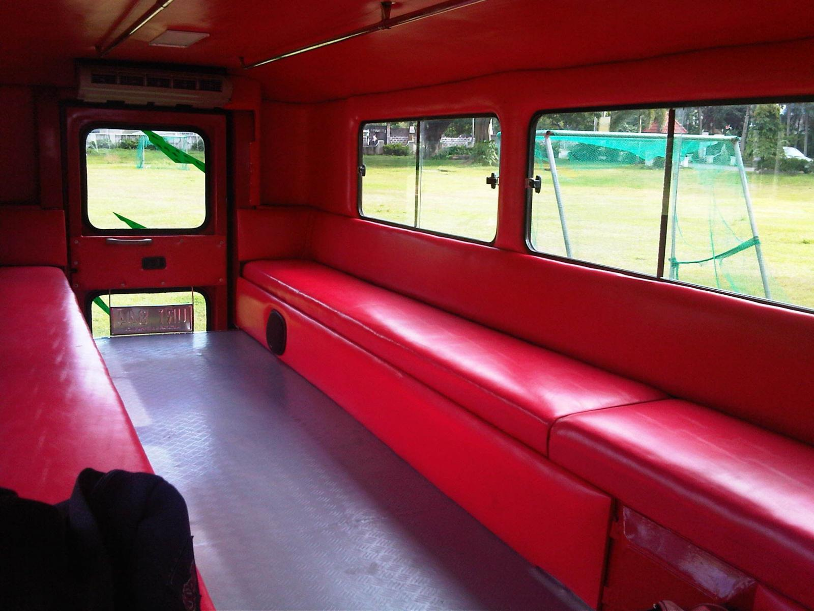 Jeepney interior