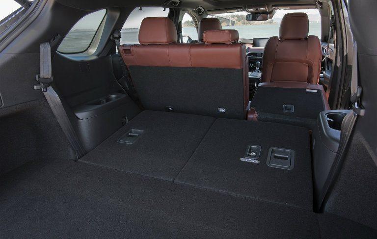 2018 Mazda CX-9 Cargo space
