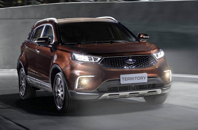 Ford Territory 2020 Exterior