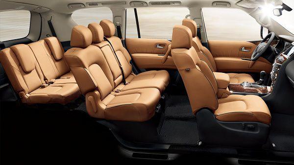 Nissan Patrol Interior