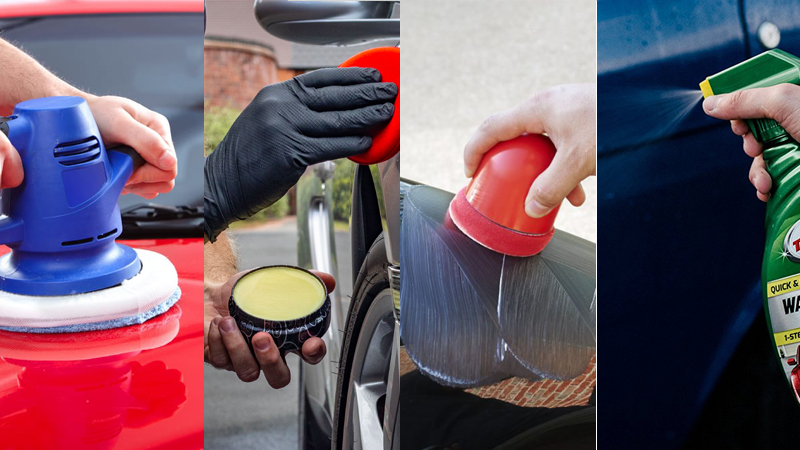 type of car wax