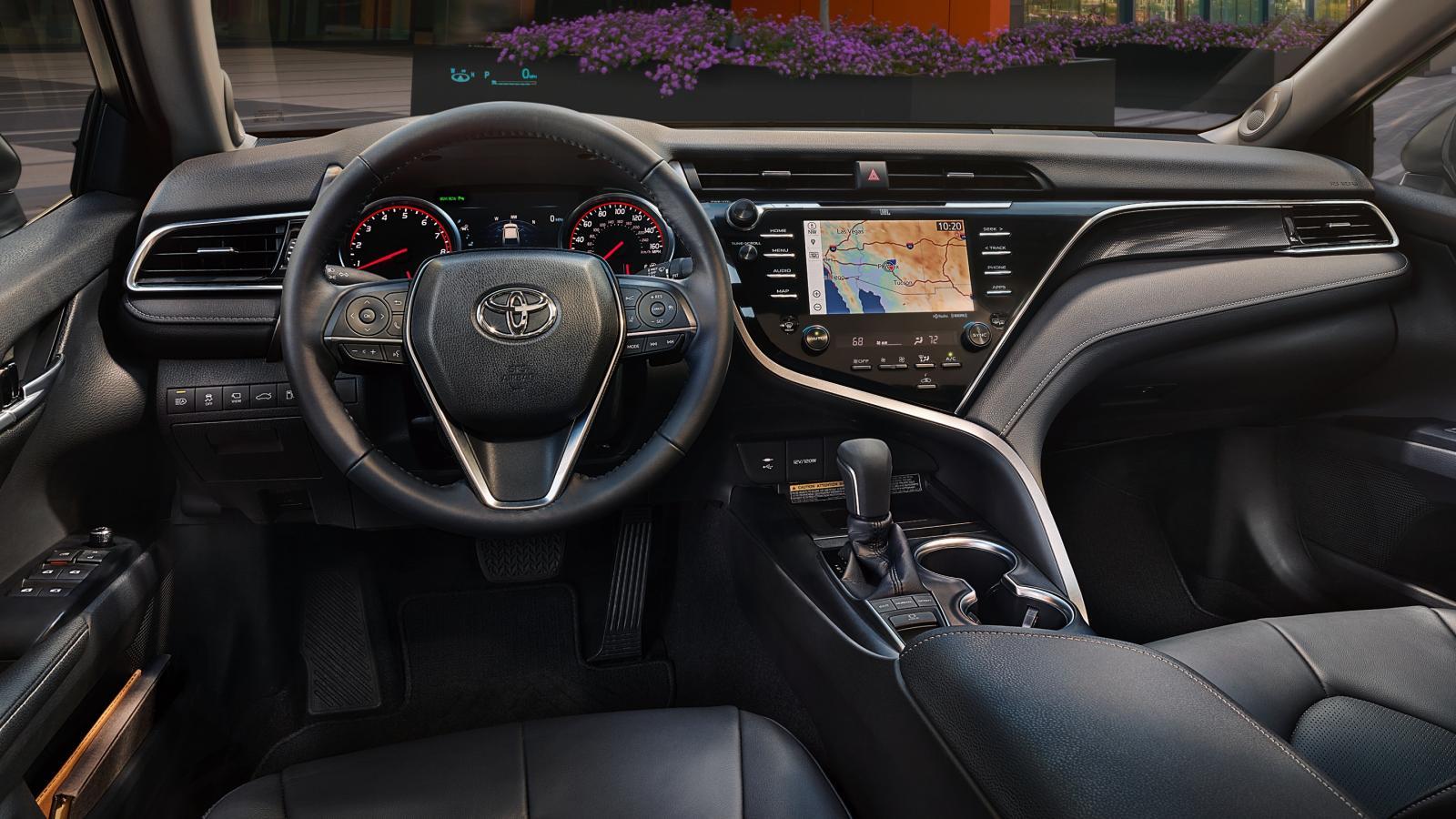 Toyota Camry 2019 Philippines interior