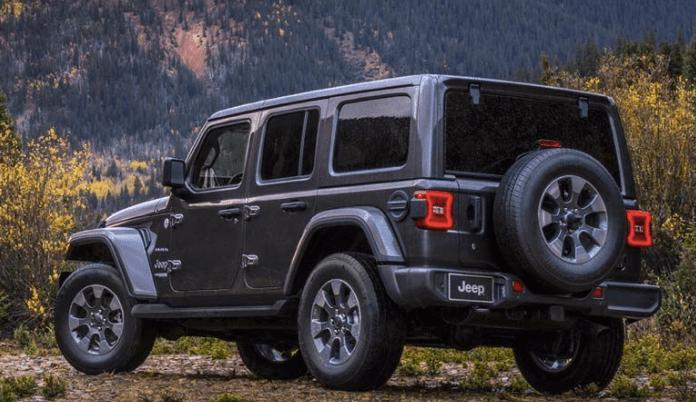jeep wrangler 2019 rear