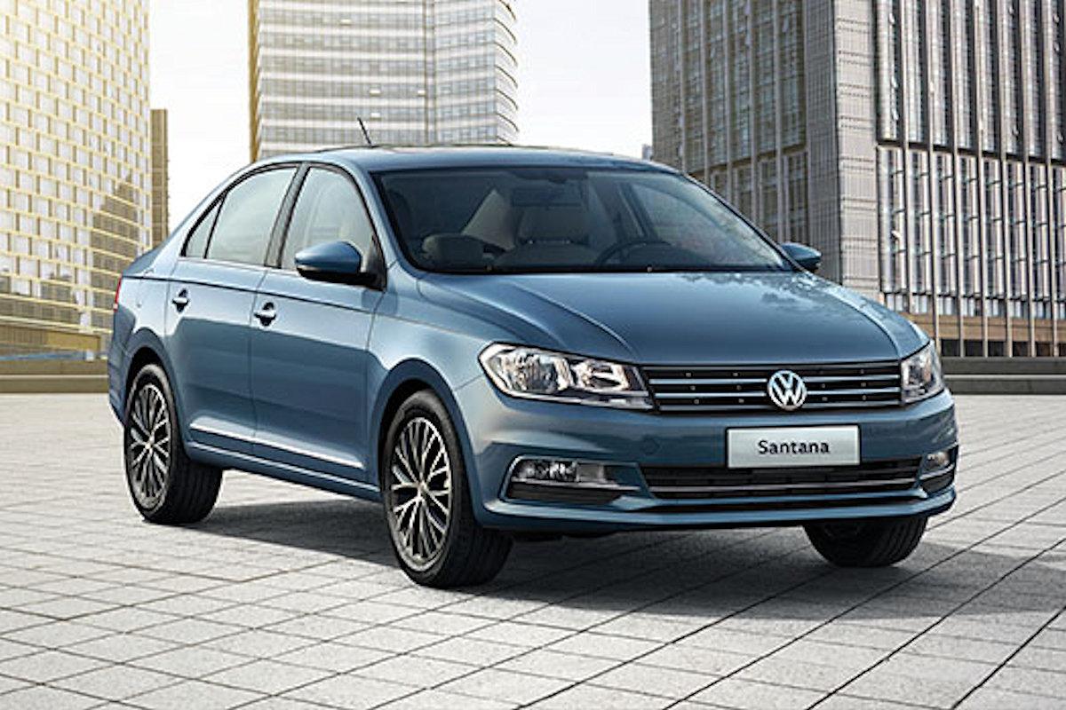Volkswagen Santana 2019
