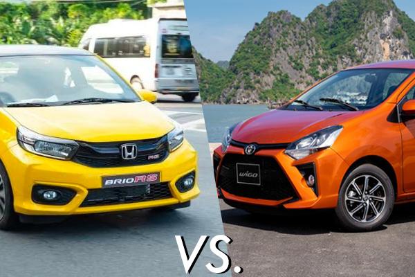 Honda Brio vs Toyota Wigo