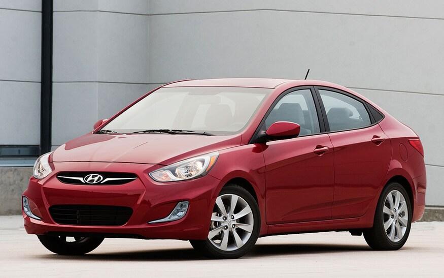 Hyundai Accent 2012 exterior