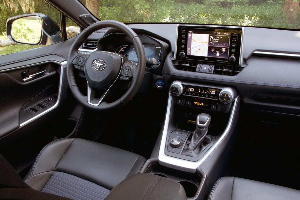 Toyota Rav4 2020 interior