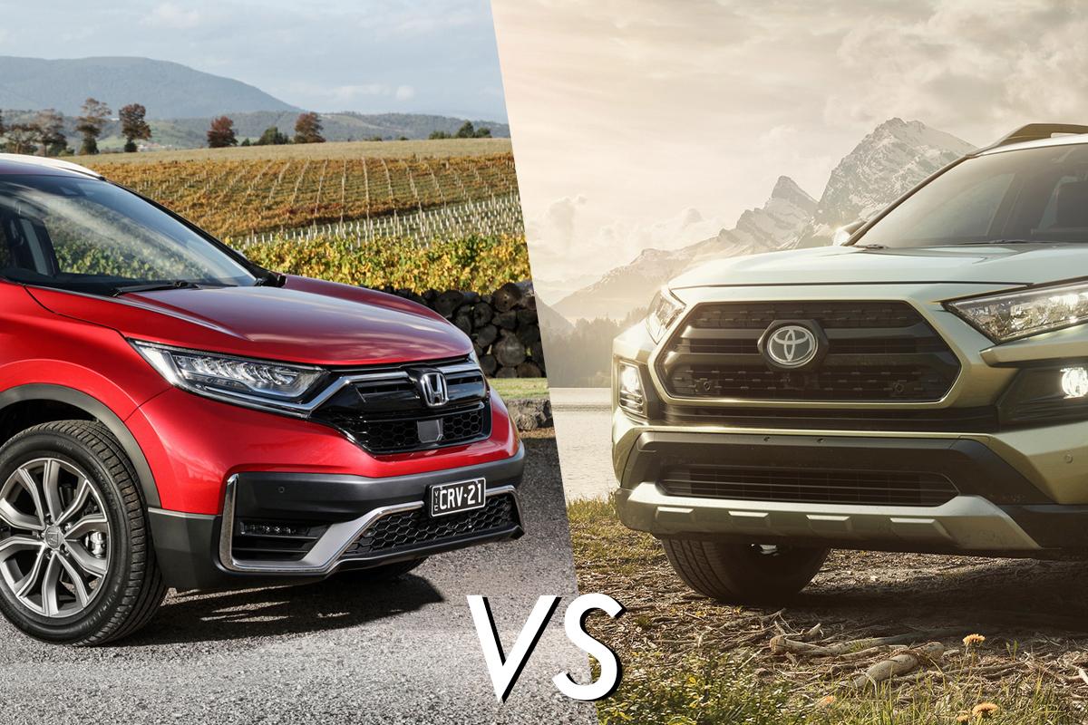 Honda CRV vs Toyta RAV4