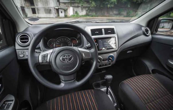 Inside the Toyota Wigo