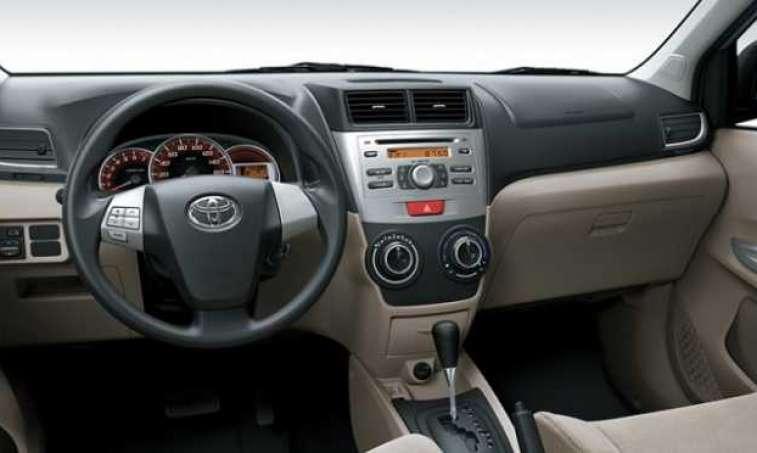Toyota Avanza 2017 Interior