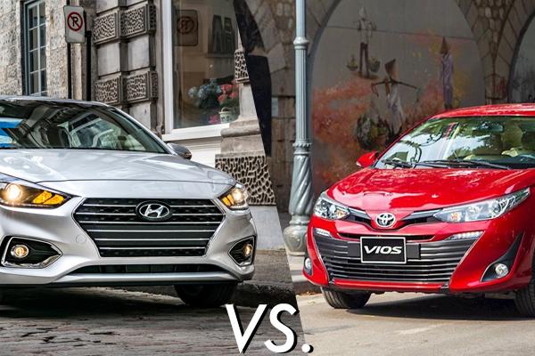 Hyundai Accent vs Toyota Vios