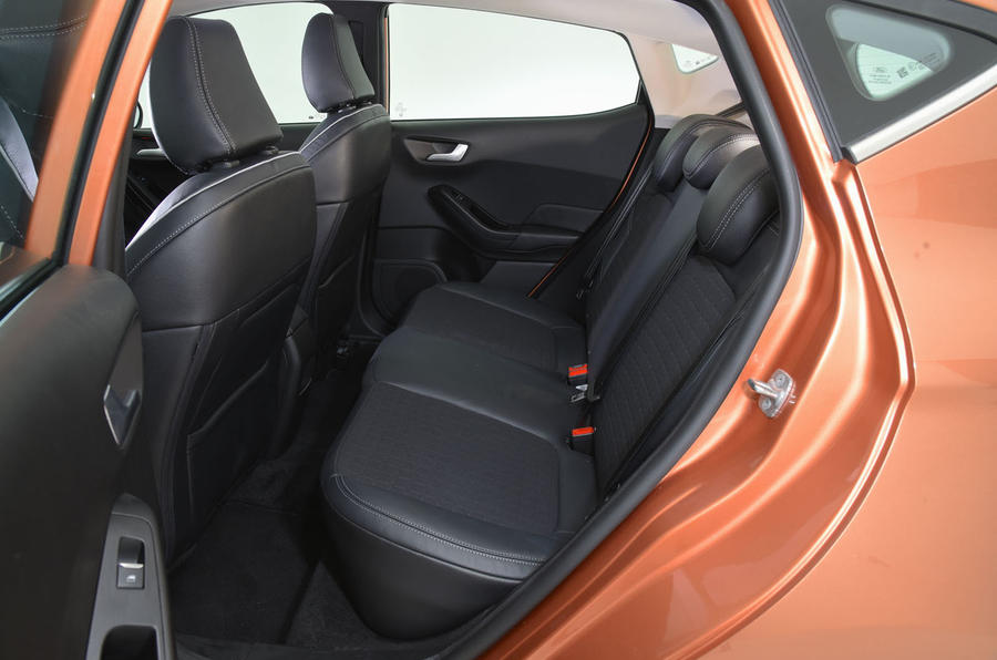 Ford Fiesta 2017 backseat space
