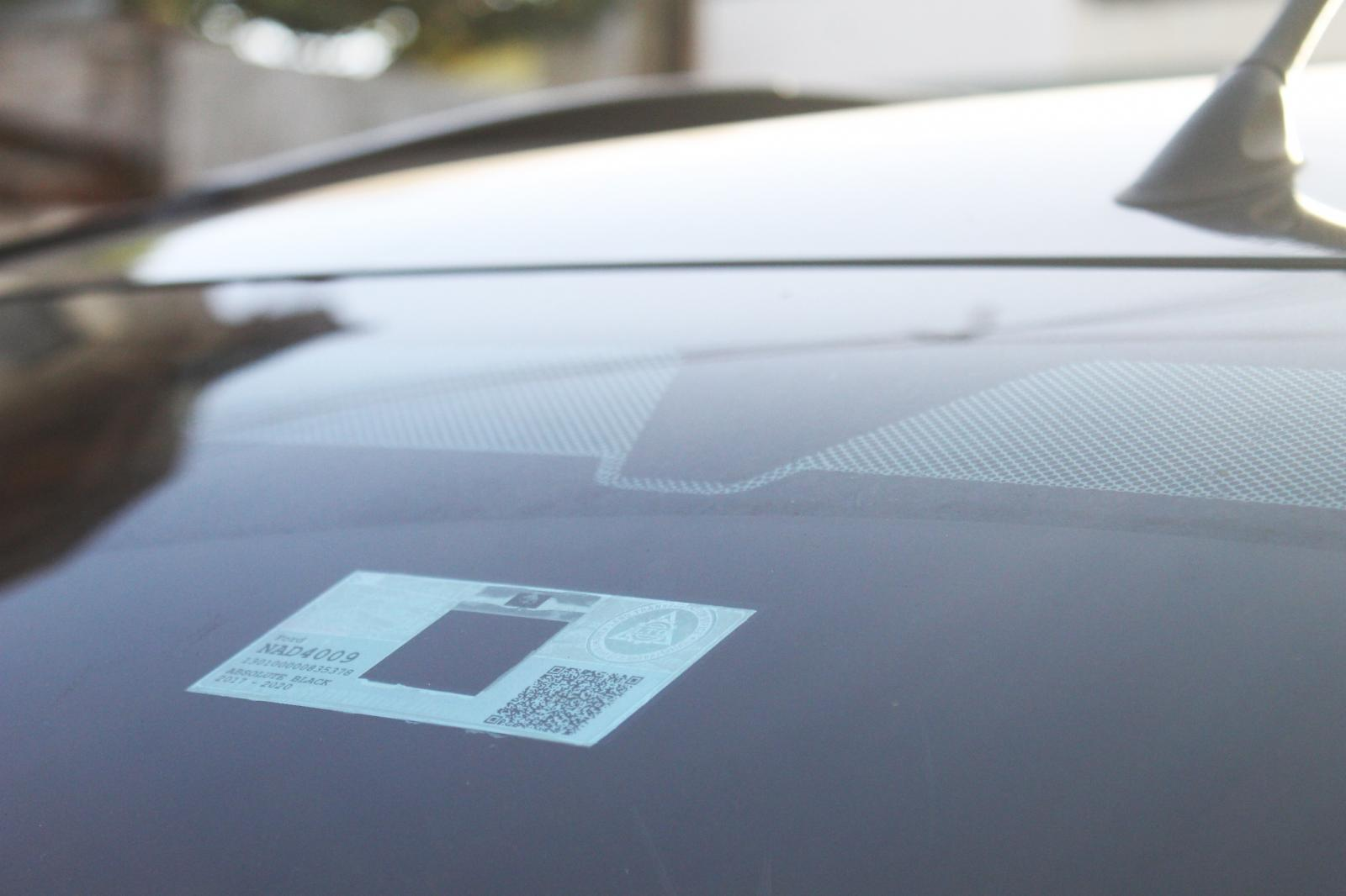 LTO RFID sticker