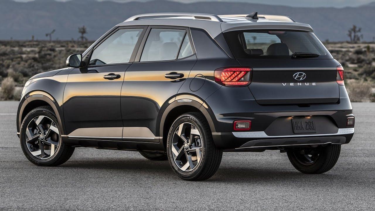 Hyundai Venue 2020 rear view