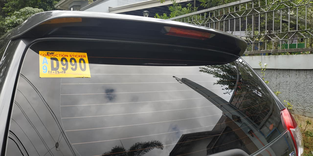 car conduction stickers