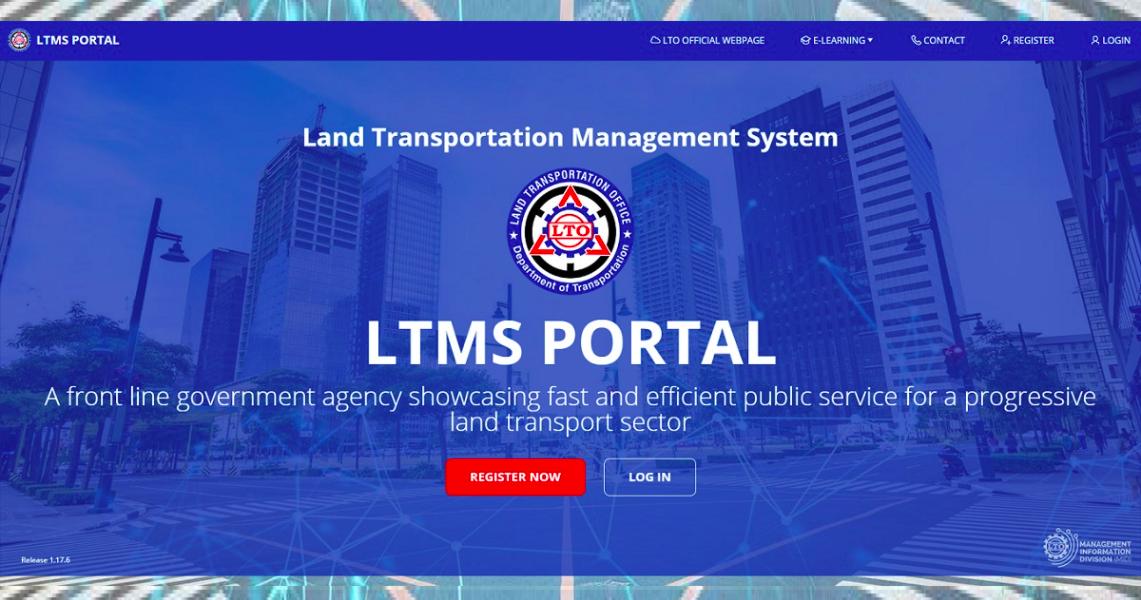Land Transportation Management System Portal