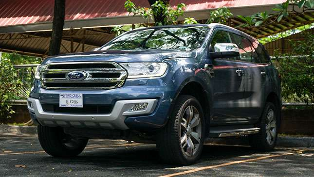 2017 Ford Everest Ambiente problem