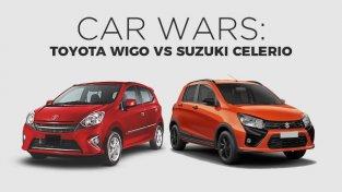 Car Showdown 101: Toyota Wigo vs Suzuki Celerio