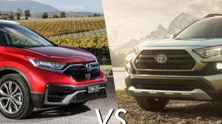 What Should You Choose Between Honda CR-V vs Toyota RAV4?