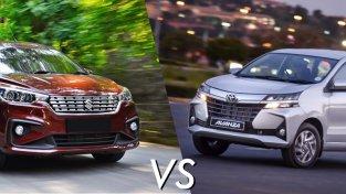 Suzuki Ertiga vs Toyota Avanza – Battle of mini MPVs!
